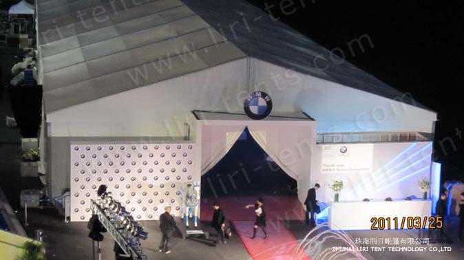 Liri Event Tent for Auto Show