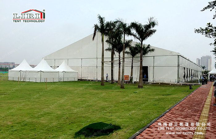 live concert tent