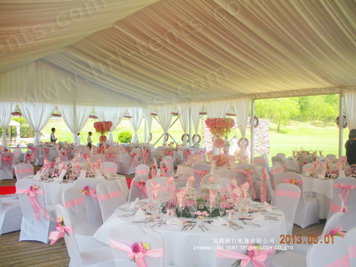 White Is the Perfect Colour for Your Wedding Marquee