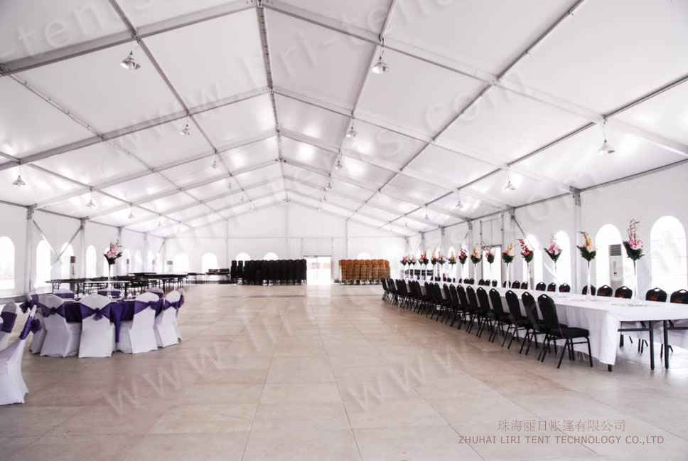 Our high quality big tent used for event center in Ikeja Lagos Nigeria (3) & Tents for events are popular now - Event Tents For Sale