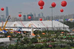 Exhibition Event Tents for 2015 Spring Canton Fair From Liri