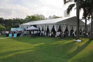 Event Tent for Beautiful Countryside Wedding