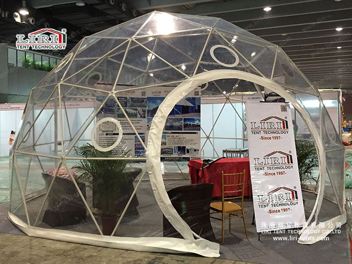 Half Spherical Party Tents Lend a Unique Shape to Your Party Ideas