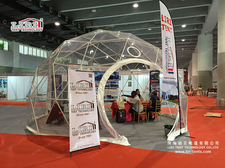 geodesic dome event tents
