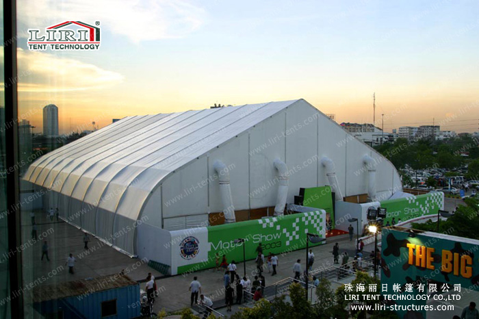 Specification for the big tents (CBT series) & Special 1000 People Curve Tent From China for Exhibition - Event ...