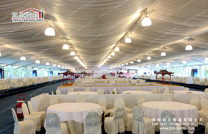 Double decker tent for China Open (28)