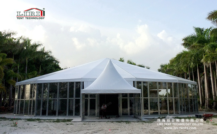 25m Tetradecagon Tent for Luxury Events