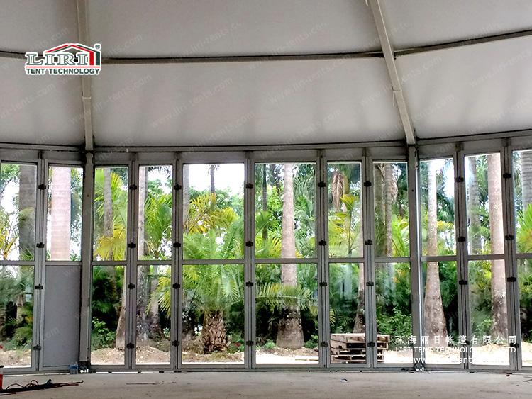 25m Tetradecagon Tent (3)