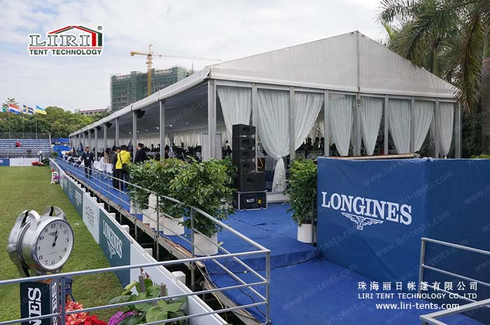 Liri Tent for Longines Equestrian Beijing Masters at  Bird's Nest Once Again