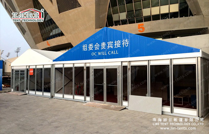 China Open tennis tent designated suppliers – LIRI TENT