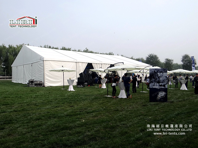 Liri's Tent for Longines Masters 2015