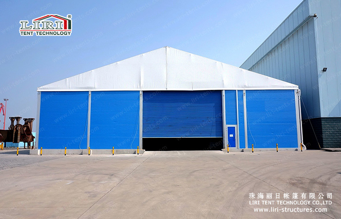 warehouse tent from Liri Tent