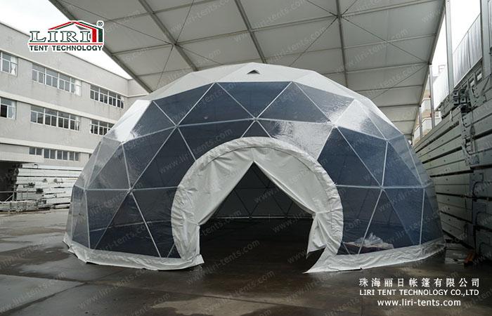 12m Half Sphere Tent (3)