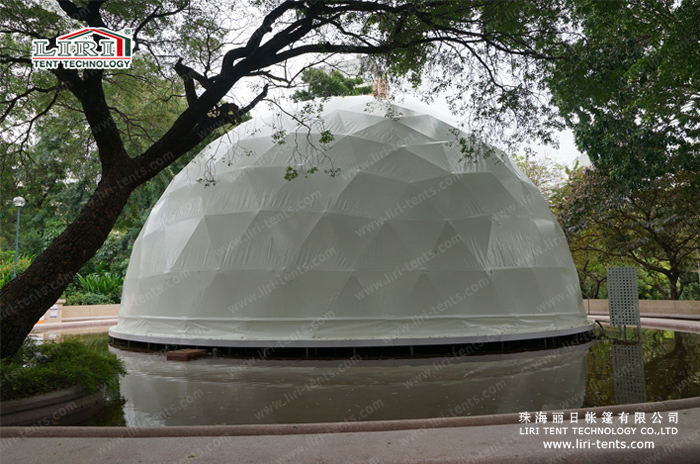 Liri's Dome Tent in Hong Kong 02