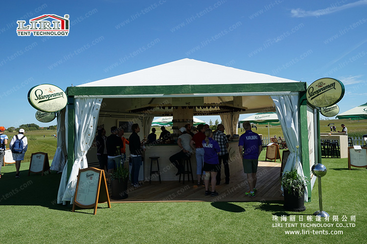 Green Decoration Outdoor Catering