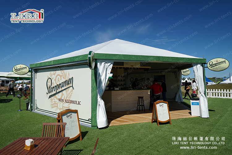Polygon Tent for Outdoor Catering
