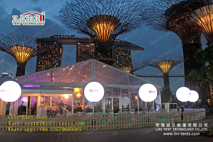 Liri Outdoor Restaurant Tent with Modern Design