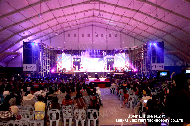 60x100m big tent in Myanmar (1)