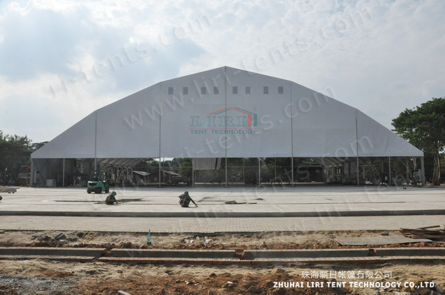 60x100m big tent in Myanmar (2)