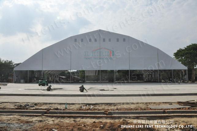 60x100m big tent in Myanmar (2)
