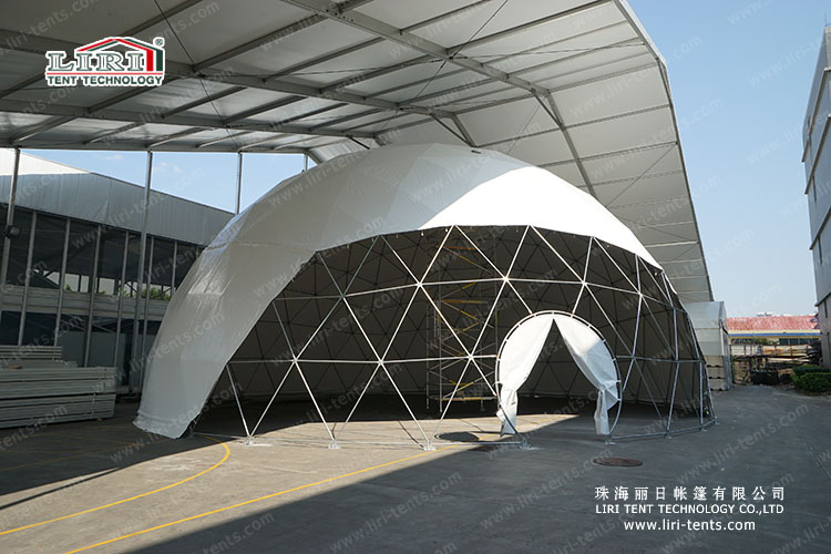 lateset sphere tent for outdoor events