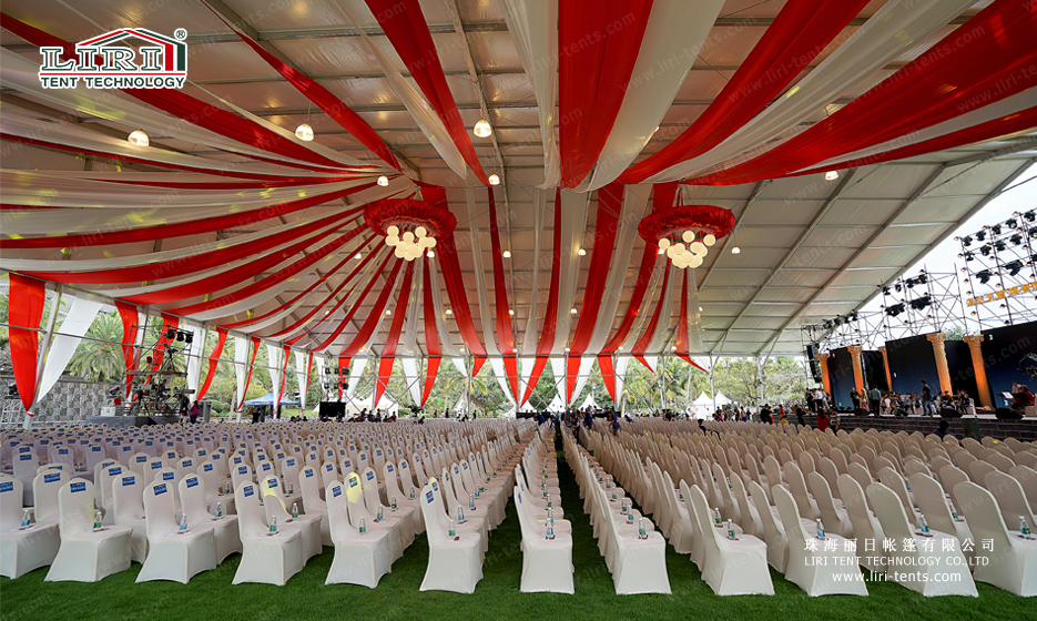 2000 people tent for outdoor event