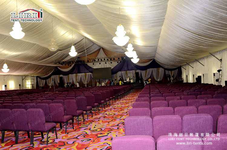 500 people elegant church tent for hajj