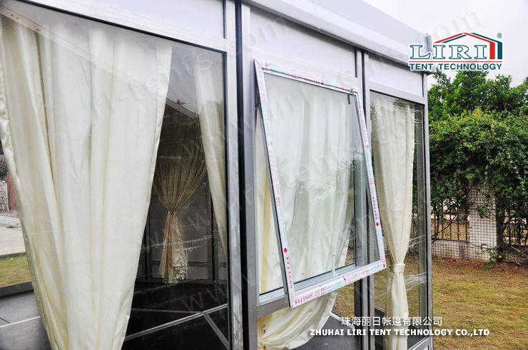 12m width polygon tent