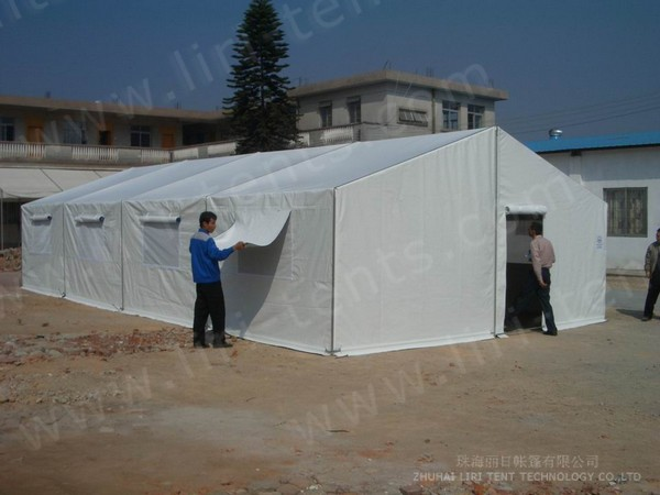Economical tent for rescue event
