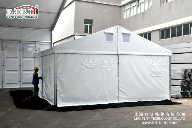 Economical event tent for rescue