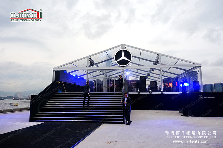 600 square meters transparent event tent