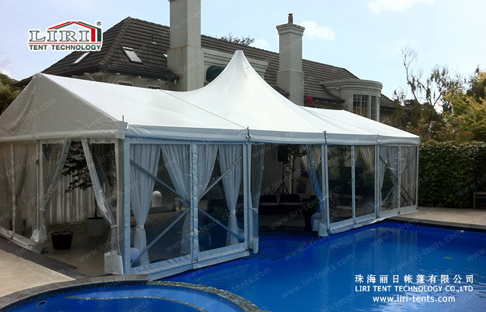 6x12m high peak tent for sale