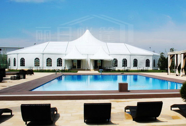 Mix Structure Tent in Romania(1)