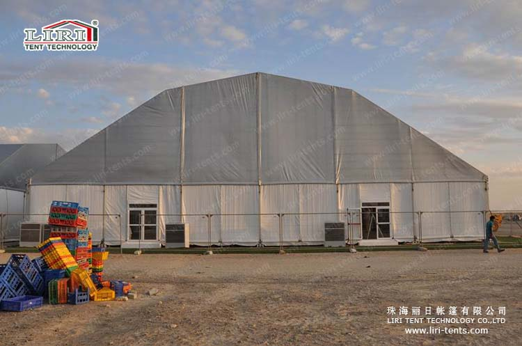 clear span polygon tent