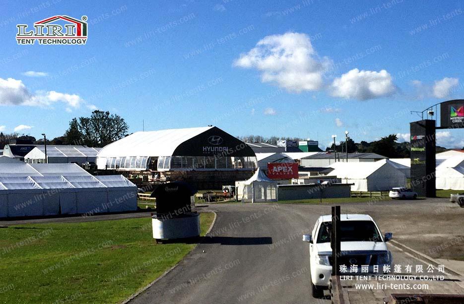 20x35m curve tent
