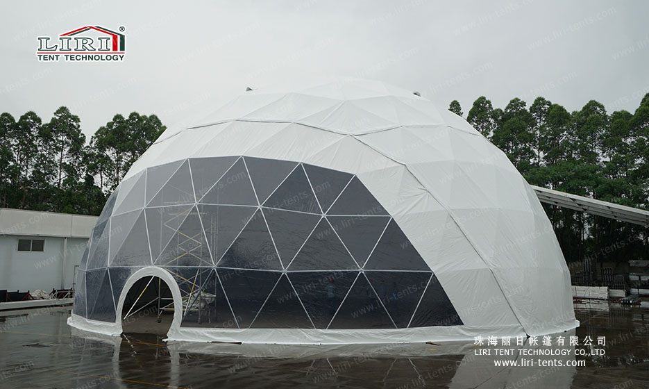 Newly 25m Half Sphere Tent for Events