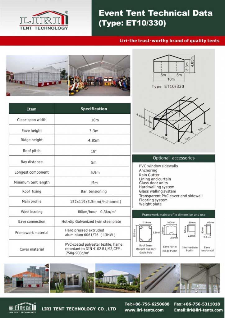 event tent aluminum structure