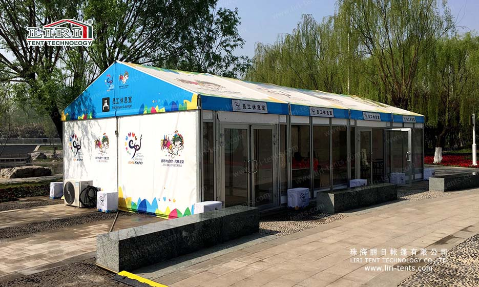 pvc roof cover event tent
