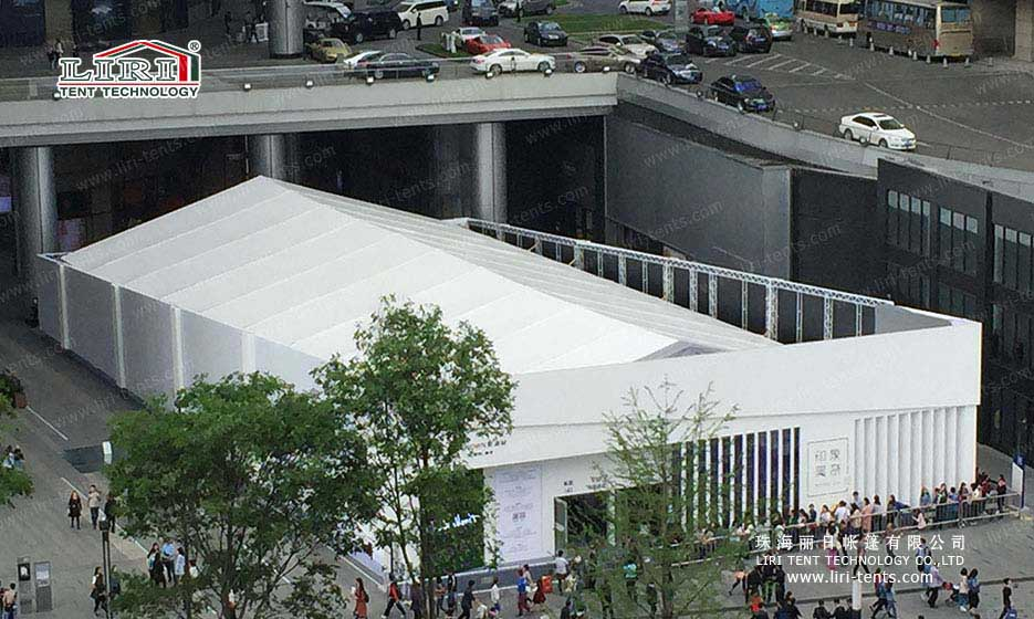 1000sqm Event Tent for Monet's Impressionism Exhibition 2016