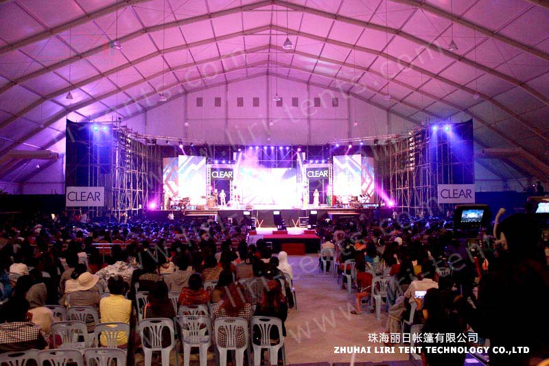 30m Polygon Aluminum Structure Tents for Music Festival