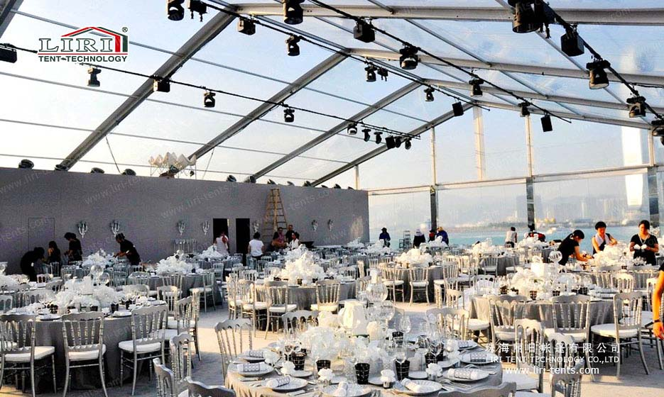 Big Outdoor Aluminum Wedding Event Tent